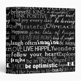 Inspirational Words Binder
