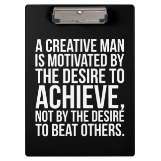 Inspirational Words - Desire To Achieve Clipboard