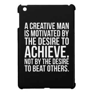 Inspirational Words - Desire To Achieve Cover For The iPad Mini