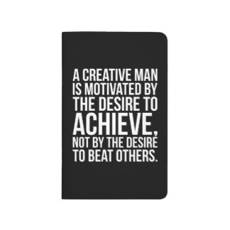 Inspirational Words - Desire To Achieve Journal