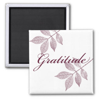 Inspirational Words Gratitude Magnet