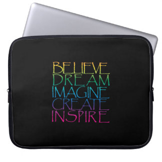 Inspirational Words Laptop Computer Sleeve