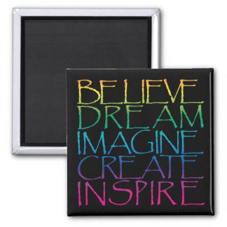 Inspirational Words Magnet