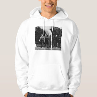 Inspirational World War I Women Railroad Workers Hoodie