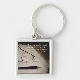 Inspirational Writer Keychain
