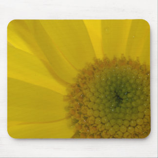 Inspirational Yellow Flower Mouse Pad