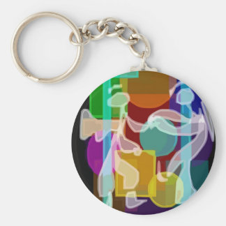 Inspirations By Sleepypupcreations.com Keychain
