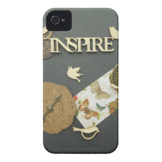 Inspire Birds Compass True  North photography iPhone 4 Case-Mate Case