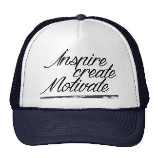 Inspire, create, motivate trucker hat