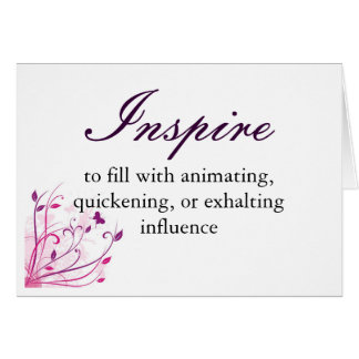 Inspire Definition Card