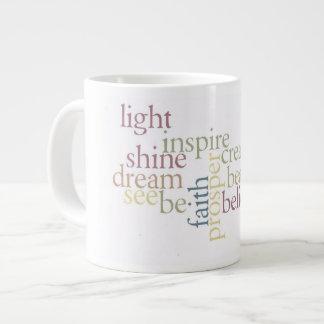 Inspire Faith Giant Coffee Mug