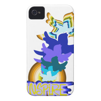 Inspire flying birds iPhone 4 Case-Mate cases