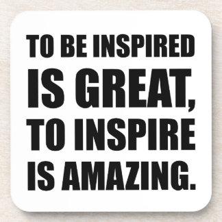 Inspire Is Amazing Coasters