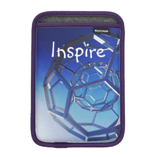 Inspire Motivational Quote Circles Photograph iPad Mini Sleeve