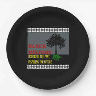 Inspire The Future BHM Party Paper Plates