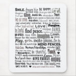 Inspire word art collage