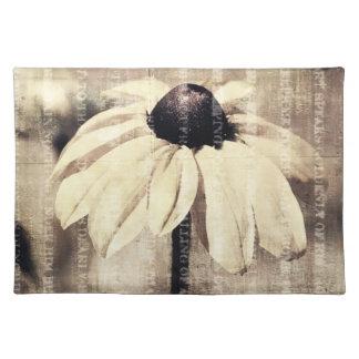 Inspired Black Eyed Susan Flower Place Mat