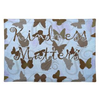 Inspired Butterflies Place Mat