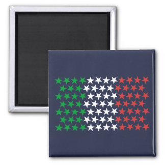 Inspired by Italian Flag. Stars Edition Magnet