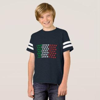 Inspired by Italian Flag. Stars Edition T-Shirt