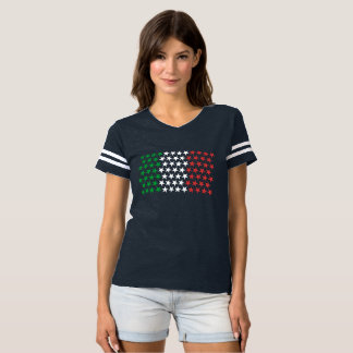 Inspired by Italian Flag. Stars Edition T-shirt