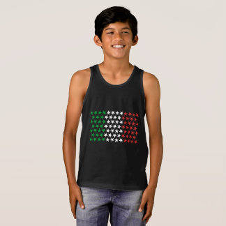 Inspired by Italian Flag. Stars Edition Tank Top