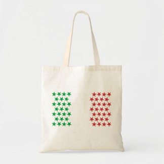 Inspired by Italian Flag. Stars Edition Tote Bag