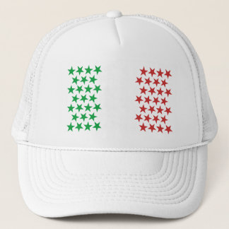 Inspired by Italian Flag. Stars Edition Trucker Hat