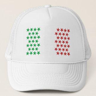 Inspired by Italian Flag. Stars Edition Trucker Hat