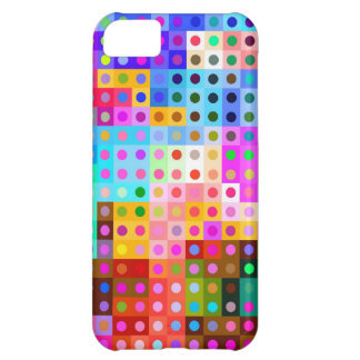Inspired colorful abstract design . iPhone 5C cases