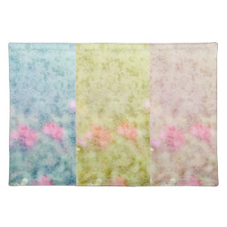 Inspired Hollyhock Floral Place Mat