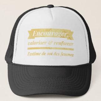 Inspired & inspiring trucker hat