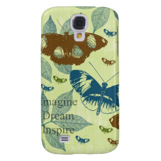 Inspired Natural Butterflies Samsung Galaxy S4 Cover