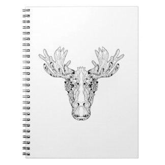 Inspired Of An Elk Notebooks