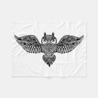Inspired Owl Fleece Blanket