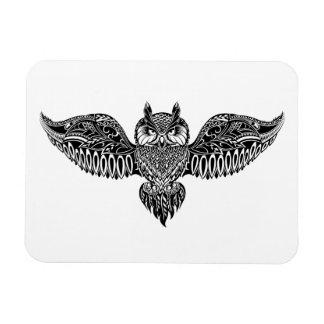 Inspired Owl Rectangular Photo Magnet
