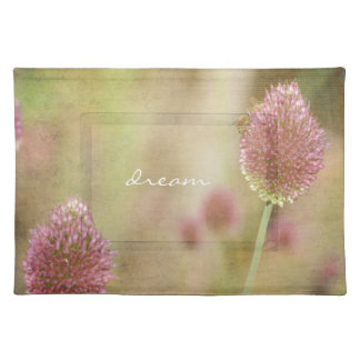 Inspired Pink Floral Place Mat