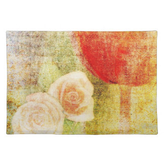 Inspired Red Tulip and Roses Placemat