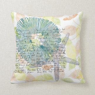 Inspired Starfish Throw Pillow