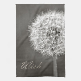 Inspired Wish Dandelion Kitchen Towel