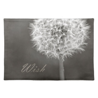 Inspired Wish Dandelion Placemats