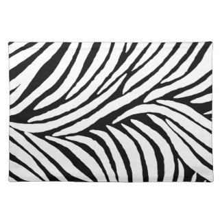 Inspired Zebra Print Placemats