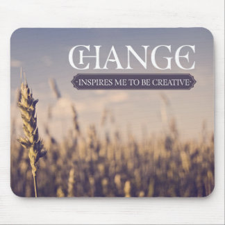 Inspires Me To Be Creative Mouse Pad