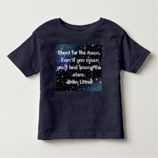 Inspiring and cute quote for kids T-shirt