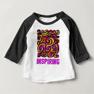 """""""Inspiring"""" Baby 3/4 Raglan T-Shirt"""