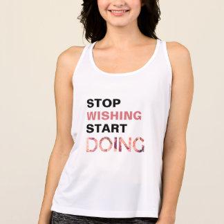 Inspiring floral Women's Sport Tank Top T-shirt