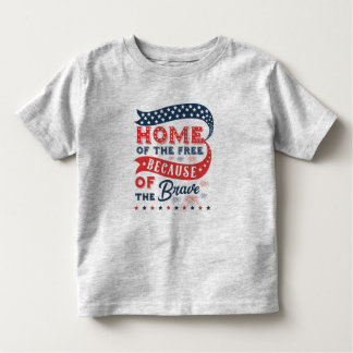 Inspiring Home of the Free Veterans Day | Shirt