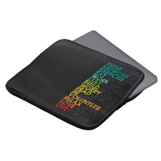 Inspiring laptop sleeve