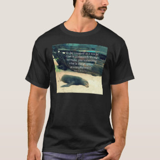 Inspiring Life quote beach theme T-Shirt