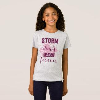 Inspiring Storm Don't Last Forever   Jersey Shirt